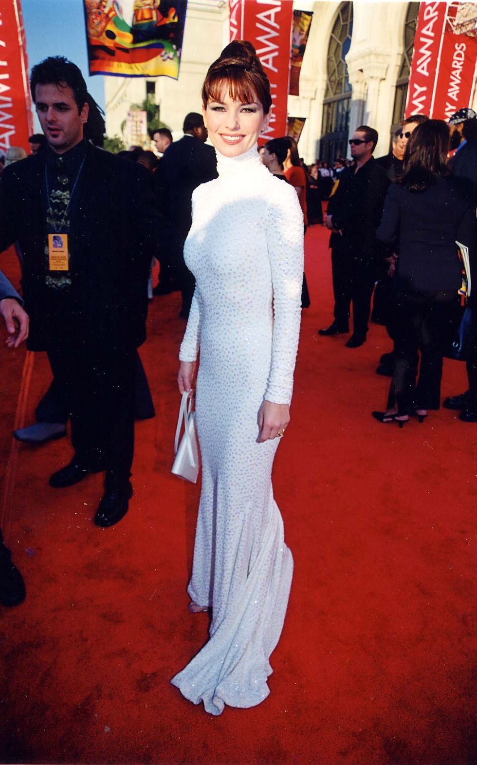 Shania Twain during 1999 Grammy Awards in Los Angeles, California, United States. (Photo by Jeff Kravitz/FilmMagic, Inc)
