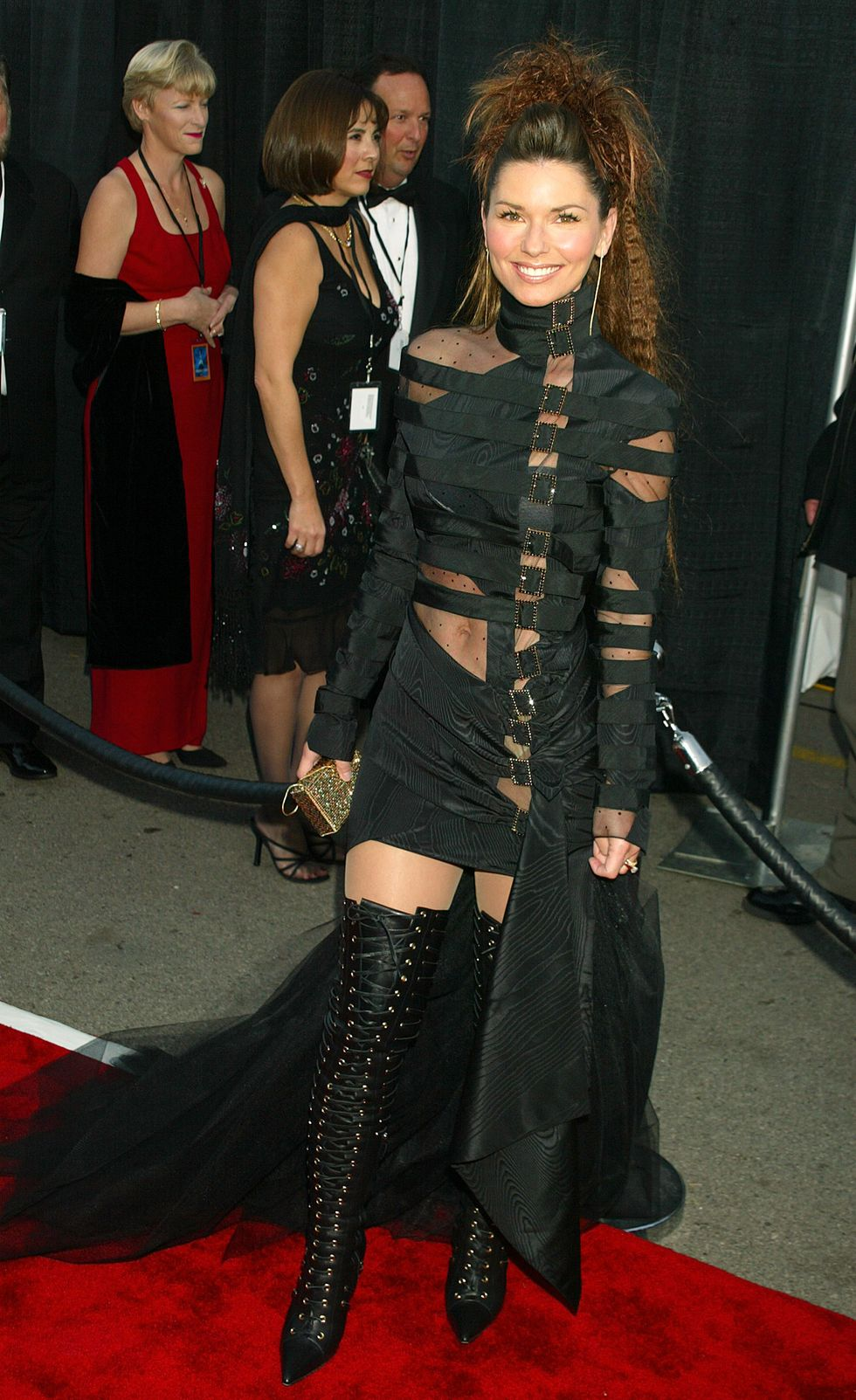Shania Twain during The 30th Annual American Music Awards - Arrivals at Shrine Auditorium in Los Angeles, California, United States. (Photo by Jeffrey Mayer/WireImage)