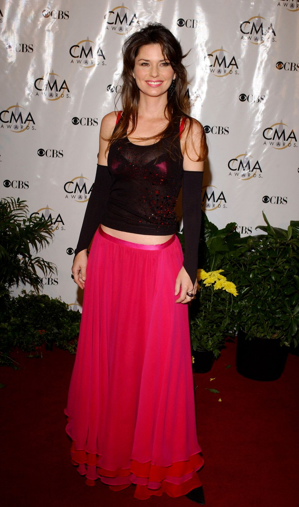 Shania Twain during 38th Annual Country Music Awards - Arrivals at Grand Ole Opry House in Nashville, Tennessee, United States. (Photo by Todd Williamson/FilmMagic)