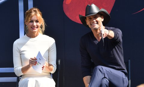 NASHVILLE, TN - OCTOBER 05:  Recording Artists Faith Hill and Tim McGraw attend Walk of Fame Ceremony at Nashville Music City Walk of Fame where they recieve stars on October 5, 2016 in Nashville, Tennessee.  (Photo by Jason Davis/WireImage)