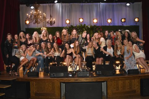 NASHVILLE, TN - NOVEMBER 07:  2017 CMT Next Women Of Country Celebration at City Winery Nashville on November 7, 2017 in Nashville, Tennessee.  (Photo by Rick Diamond/Getty Images for CMT)