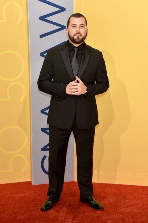 NASHVILLE, TN - NOVEMBER 02:  Singer-songwriter Tyler Farr attends the 50th annual CMA Awards at the Bridgestone Arena on November 2, 2016 in Nashville, Tennessee.  (Photo by John Shearer/WireImage)