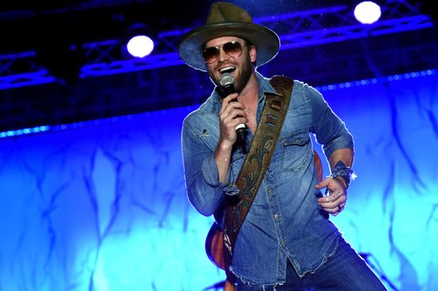 NASHVILLE, TN - FEBRUARY 24:  Drake White performs onstage at New Faces of Country Music Dinner & Performance - Sponsored by ACM & St. Jude Children's Research Hospital | Performances Powered by Live Nation during CRS 2017 - Day 3 on February 24, 2017 in Nashville, Tennessee.  (Photo by Rick Diamond/Getty Images for CRS)
