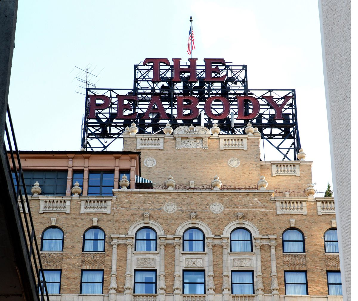 MEMPHIS - OCTOBER 03:  The Peabody Hotel in Memphis, Tennessee on October 3, 2016.  (Photo By Raymond Boyd/Getty Images)