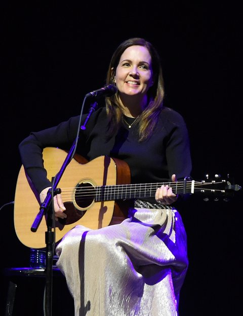 LAS VEGAS, NV - MARCH 31:  Singer Lori McKenna performs onstage at the ACM Party For A Cause: Songwriter Showcase on March 31, 2017 in Las Vegas, Nevada.  (Photo by David Becker/Getty Images for ACM)