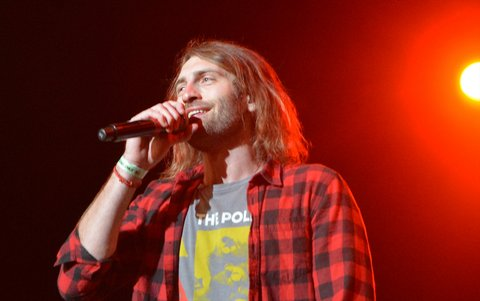 LAS VEGAS, NV - APRIL 01:  Ryan Hurd performs during the 5th ACM Party for a Cause at The Joint inside the Hard Rock Hotel & Casino on April 1, 2017 in Las Vegas, Nevada.  (Photo by Mindy Small/WireImage)