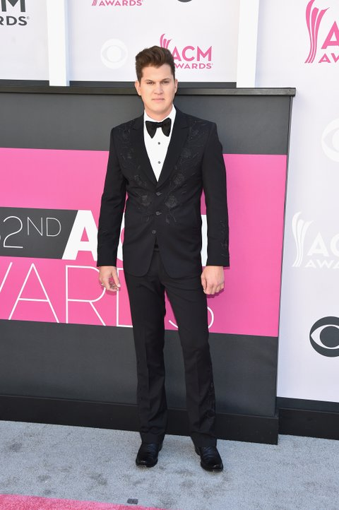LAS VEGAS, NV - APRIL 02:  Singer Jon Pardi attends the 52nd Academy Of Country Music Awards at Toshiba Plaza on April 2, 2017 in Las Vegas, Nevada.  (Photo by John Shearer/WireImage)