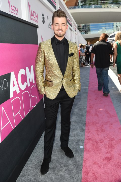 LAS VEGAS, NV - APRIL 02:  Recording artist Chase Bryant attends the 52nd Academy Of Country Music Awards at Toshiba Plaza on April 2, 2017 in Las Vegas, Nevada.  (Photo by Rick Diamond/ACMA2017/Getty Images for ACM)