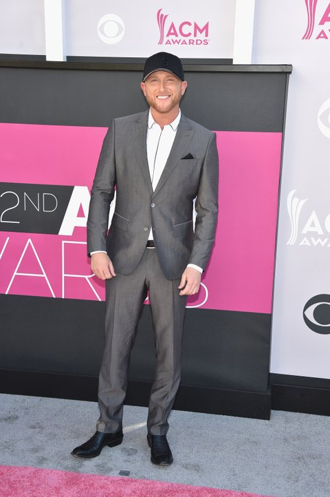 LAS VEGAS, NV - APRIL 02:  Singer Cole Swindell attends the 52nd Academy Of Country Music Awards at Toshiba Plaza on April 2, 2017 in Las Vegas, Nevada.  (Photo by John Shearer/WireImage)