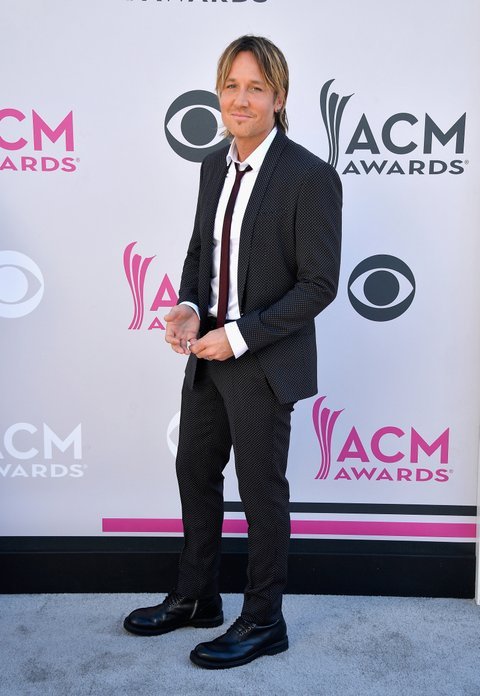 LAS VEGAS, NV - APRIL 02:  Recording artist Keith Urban attends the 52nd Academy Of Country Music Awards at Toshiba Plaza on April 2, 2017 in Las Vegas, Nevada.  (Photo by Frazer Harrison/Getty Images)