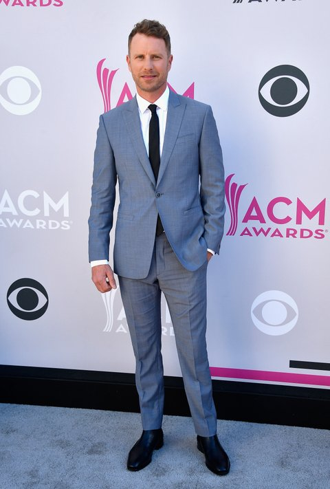 LAS VEGAS, NV - APRIL 02:  Co-host Dierks Bentley attends the 52nd Academy Of Country Music Awards at Toshiba Plaza on April 2, 2017 in Las Vegas, Nevada.  (Photo by Frazer Harrison/Getty Images)