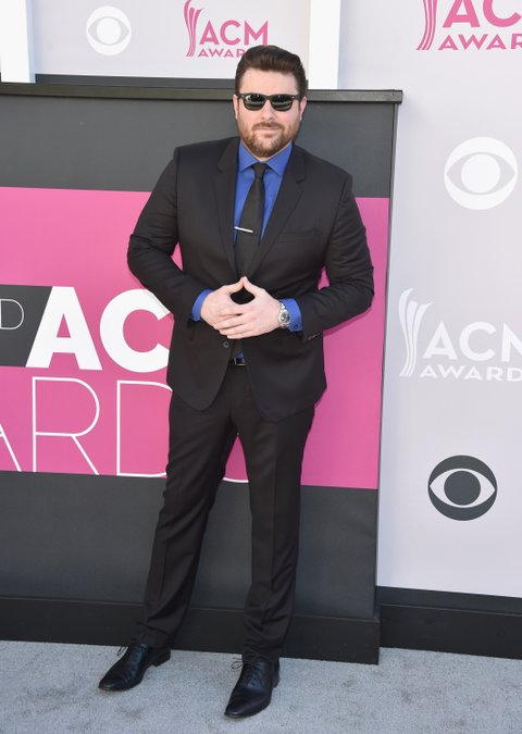 LAS VEGAS, NV - APRIL 02:  Recording artist Chris Young attends the 52nd Academy Of Country Music Awards at Toshiba Plaza on April 2, 2017 in Las Vegas, Nevada.  (Photo by John Shearer/WireImage)