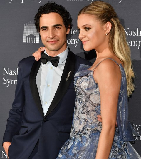 NASHVILLE, TN - APRIL 18:  Fashion Designer Zac Posen and recording artist Kelsea Ballerini arrive at Schermerhorn Symphony Center on April 18, 2017 in Nashville, Tennessee.  (Photo by Jason Davis/Getty Images)