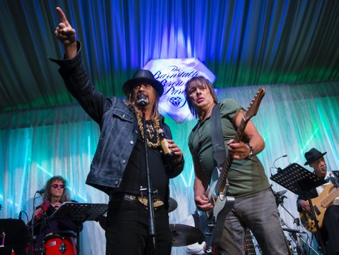 LOUISVILLE, KY - MAY 05: Kid Rock and Richie Sambora appears at The Barnstable Brown Gala on May 5, 2017 in Louisville, Kentucky. (Photo by Michael Hickey/Getty Images)