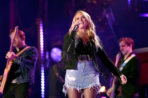 NASHVILLE, TN - JUNE 08:  (EDITORIAL USE ONLY)  Singer-songwriter Miranda Lambert performs onstage for day 1 of the 2017 CMA Music Festival on June 8, 2017 in Nashville, Tennessee.  (Photo by John Shearer/Getty Images)