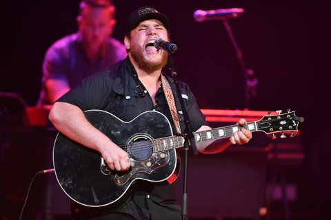 NASHVILLE, TN - JUNE 05:  Recording Artist Luke Combs performs onstage during 8th Annual Darius and Friends concert at Ryman Auditorium on June 5, 2017 in Nashville, Tennessee.  (Photo by Jason Davis/Getty Images)
