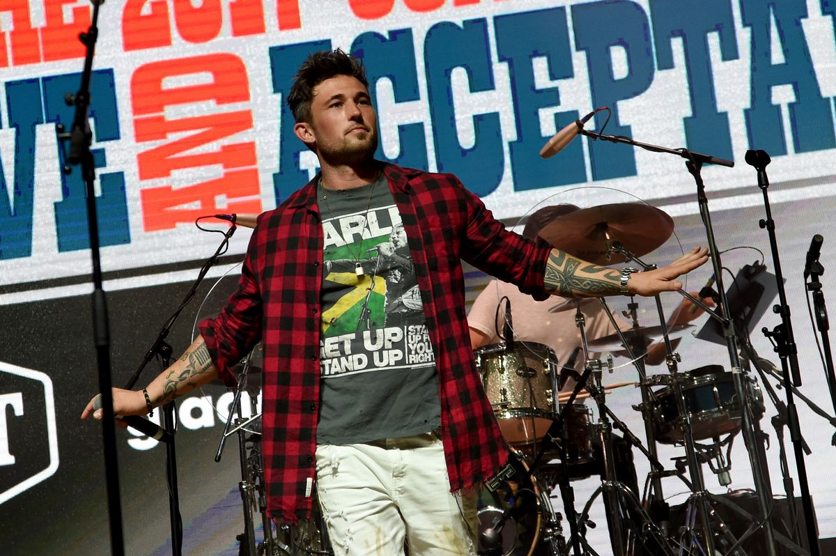 NASHVILLE, TN - JUNE 08: Singer-songwriter Michael Ray performs onstage during the 2017 Concert for Love & Acceptance on June 8, 2017 in Nashville, Tennessee. (Photo by Rick Diamond/Getty Images for Love & Acceptance)