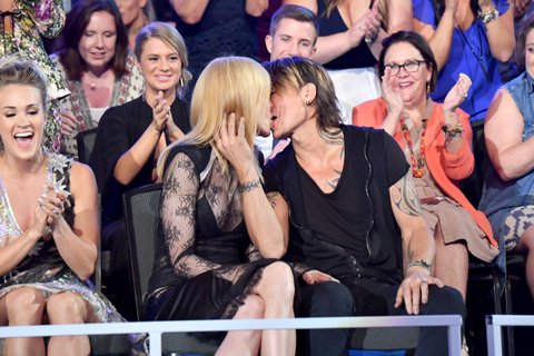 NASHVILLE, TN - JUNE 07:  Nicole Kidman and Keith Urban attend the 2017 CMT Music Awards at the Music City Center on June 7, 2017 in Nashville, Tennessee.  (Photo by Jeff Kravitz/FilmMagic)