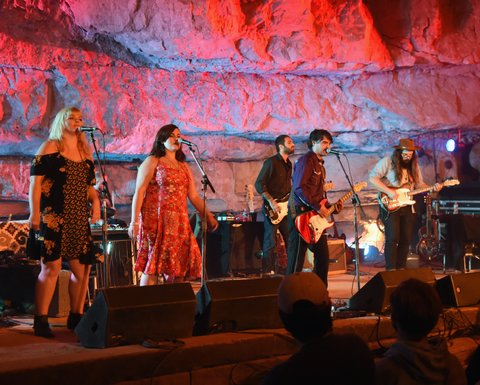 MCMINNVILLE, TN - SEPTEMBER 29:  Singer/Songwriters Craig Brown Band performs during Tennessee Tourism & Third Man Records 333 Feet Underground at Cumberland Caverns on September 29, 2017 in McMinnville, Tennessee.  (Photo by Rick Diamond/Getty Images for Tennessee Tourism)