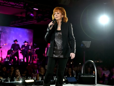 NASHVILLE, TN - NOVEMBER 07:  Reba performs onstage during the 65th Annual BMI Country Awards at BMI on November 7, 2017 in Nashville, Tennessee.  (Photo by John Shearer/Getty Images for BMI)