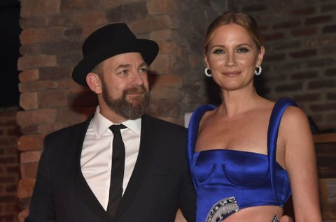 NASHVILLE, TN - NOVEMBER 09: Jennifer Nettles (R) and Kristian Bush (L) of Sugarland attend the Big Machine Label Group's celebration of the 51st Annual CMA Awards at FGL House in Nashville on November 8, 2017 in Nashville, Tennessee.  (Photo by Rick Diamond/Getty Images for BMLG )