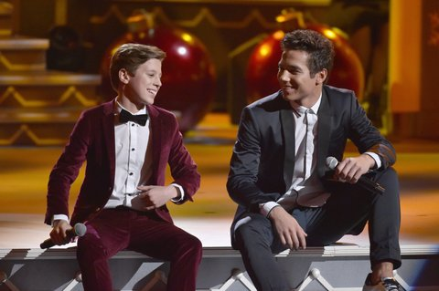 NASHVILLE, TN - NOVEMBER 14: Brody Clementi and Christian Clementi of musical group CB30 perform onstage for CMA 2017 Country Christmas at The Grand Ole Opry on November 14, 2017 in Nashville, Tennessee.  (Photo by John Shearer/Getty Images,)