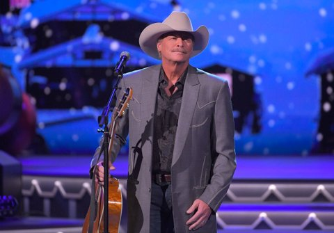 NASHVILLE, TN - NOVEMBER 14:  Alan Jackson performs during CMA 2017 Country Christmas at The Grand Ole Opry on November 14, 2017 in Nashville, Tennessee.  (Photo by Mickey Bernal/FilmMagic)