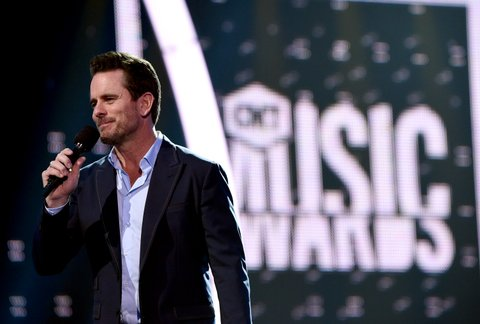NASHVILLE, TN - JUNE 06:  Host Charles Esten speaks onstage during the 2017 CMT Music Awards rehearsals at Music City Convention Center on June 6, 2017 in Nashville, Tennessee.  (Photo by Mike Coppola/Getty Images for CMT)