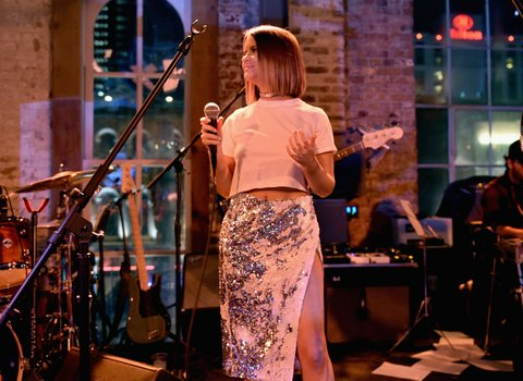 NASHVILLE, TN - JANUARY 14:  Maren Morris performs onstage during the Nashville Opening of Dierks Bentley's Whiskey Row on January 14, 2018 in Nashville, Tennesse  (Photo by John Shearer/Getty Images for Dierks Bentley's Whiskey Row Nashville)