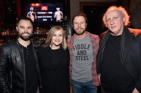 NASHVILLE, TN - JANUARY 14:  CEO of Riot Hospitality Group Ryan Hibbert, mayor of Nashville Megan Barry, singer-songwriter Dierks Bentley, and Bruce Barry attend the Nashville Opening of Dierks Bentley's Whiskey Row on January 14, 2018 in Nashville, Tennesse  (Photo by John Shearer/Getty Images for Dierks Bentley's Whiskey Row Nashville)