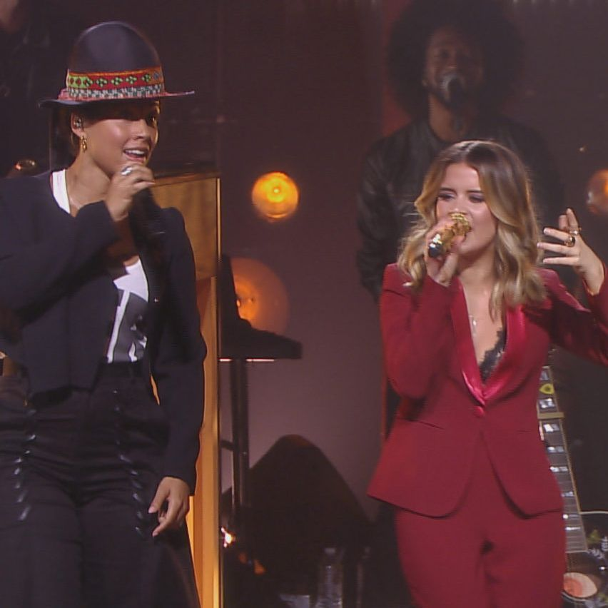 Alicia Keys If I Ain T Got You Audio Download alicia keys and maren morris share mutual love of soul on