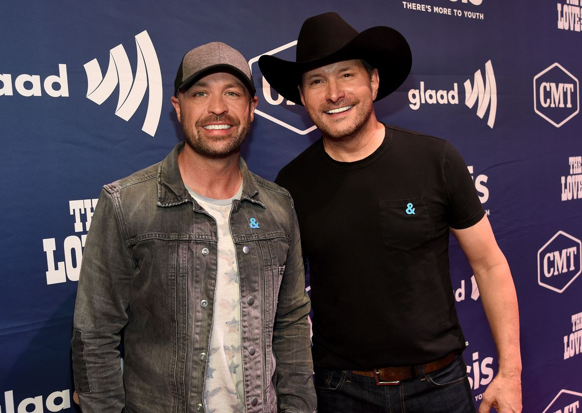 NASHVILLE, TN - JUNE 08: CMT's Cody Alan (L) and singer Ty Herndon attend the 2017 Concert for Love & Acceptance on June 8, 2017 in Nashville, Tennessee. (Photo by Rick Diamond/Getty Images for Love & Acceptance)