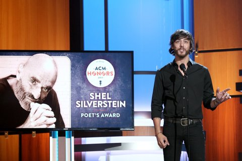 NASHVILLE, TN - AUGUST 23:  Chris Janson speaks onstage during the 11th Annual ACM Honors at the Ryman Auditorium on August 23, 2017 in Nashville, Tennessee.  (Photo by Terry Wyatt/Getty Images for ACM)